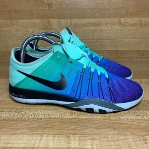 Nike Free TR 6 SPCTRM Womens Blue Teal Purple Sz 7